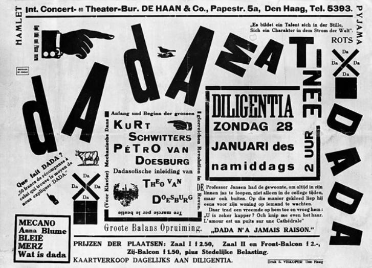 Dada Graphic Design Art