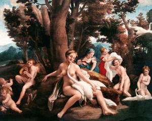 cuadro renacentista